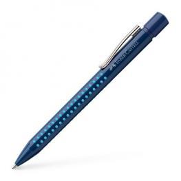 Boligrafo Grip 2010 M Azul Oscuro-Azul Claro Faber Castell 243902