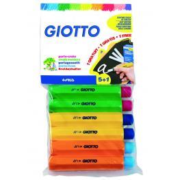 Giotto Portatizas Giotto Robercolor Blister 5+1 Ud 692300