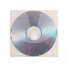 Pack 5 Fundas Pp Adhesiva Para Cd/dvd Q-Connect Kf03299