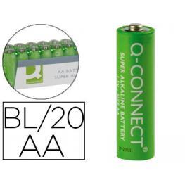 Paq. 20 Pilas Alcalinas Q-Connect Aa 1,5V