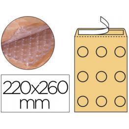 Sobre Burbujas Crema Q-Connect E/2 220X260 Mm. Kf15014