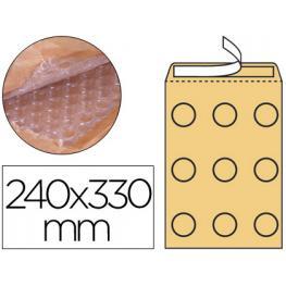 Q-Connect Sobre Burbujas Crema H/5 240 X 330 Mm.