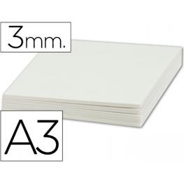 Liderpapel Pack 10 Uds. Carton Pluma Doble Cara Din A3 Espesor 3 Mm