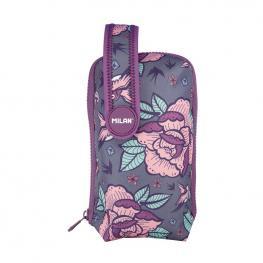 Plumier Mini Handly Kit Portatodo Flowers Pink Milan 08871Fwp