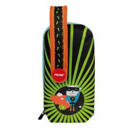 Plumier Handly Multipencilcase Super Heroes Verde Milan 08872Shk