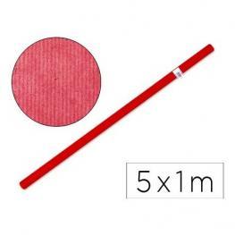 Papel Kraft Liderpapel Rojo -Rollo de 5X1 M Pk15