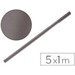 Papel Kraft Liderpapel Gris Ferro -Rollo 5X1 M Pk43