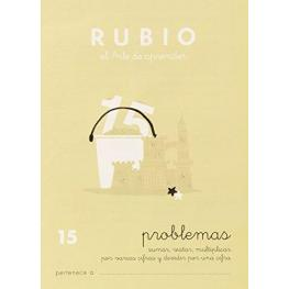 Rubio Cuaderno Problemas Nº 15 Pr-15