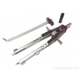 Rotring Compas Micrometrico Con Alargadera R530116