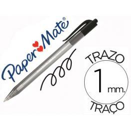 Boligrafo Paper Mate Injkoy 100 Rt 1 Mm Negro S0957030