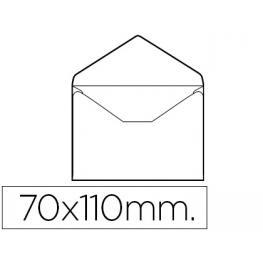 Caja 100 Sobres Tarjeta de Visita 70X105 Mm Solapa Pico Liderpapel Sb03