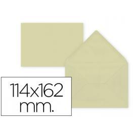 Paq. 15 Sobres Crema 114X162 Solapa Pico 80Gr Liderpapel Sb28