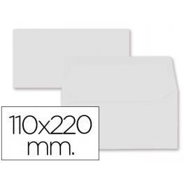 Paq. 9 Sobres Americanos 110X220 Blanco 80Gr Liderpapel Sb61
