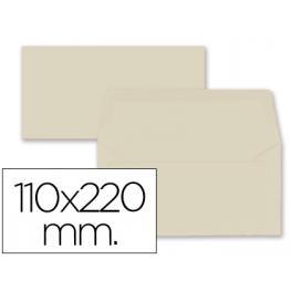 Paq. 9 Sobres Americanos 110X220 Crema 80Gr Liderpapel Sb62
