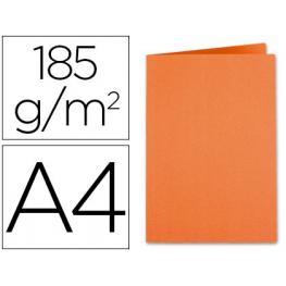 Subcarpeta Liderpapel A4 Naranja Intenso 185Gr