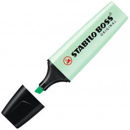 Stabilo Marcador Fluorescente Boss Verde Pastel 70/116