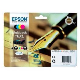 Epson Cartuchos Inyeccion 16Xl Negro/amarillo/cyan/magenta Multipack C13T16364012