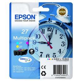 Epson Cartuchos Inyeccion 27 Cyan/magenta/amarillo C13T27054020