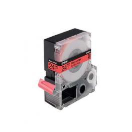 Epson Cintas Rotulacion Lc6Rbp9 24 Mm Negro/rojo Pastel C53S627400