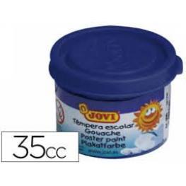 Jovi Caja 5 Uds. Temperas 35 Ml Azul Ultramar 503/24