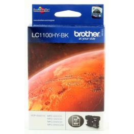 Brother Cartuchos Inyeccion Lc-1100Hybk Negro Lc1100Hybk