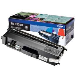 Brother Toner Laser Tn-320Bk Negro 2.500Pg Tn320Bk