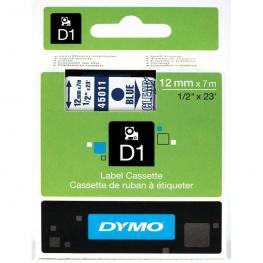 Dymo Cintas D1 Rotulacion 12 Mm X 7 M Azul/transparente Adhesivo Permanente S0720510