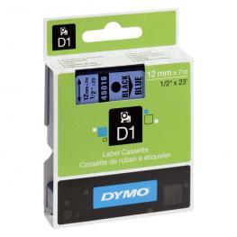 Dymo Cintas D1 Rotulacion 12 Mm X 7 M Negro/azul Adhesivo Permanente S0720560