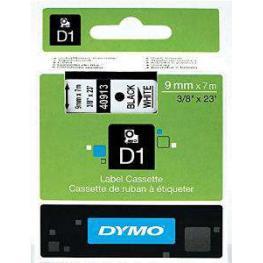Dymo Cintas D1 Rotulacion 9 Mm X 7 M Negro/blanco Adhesivo Permanente S0720680