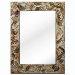 Espejo de Madera Pintado A Mano