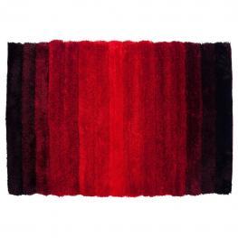 Alfombra 3D Color Negro-Rojo