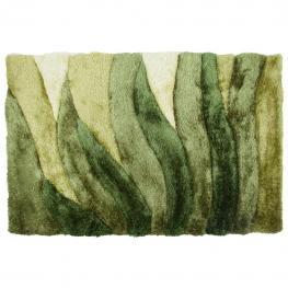 Alfombra 3D Color Verde Pelo