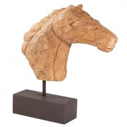Figura de Cabeza de Caballo de