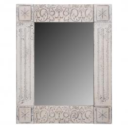 Espejo de Madera Blanco