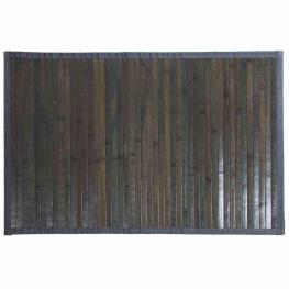 Alfombra de Bambu de Color Gris - Bambu + Cotton Fabric