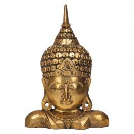Budha de Madera En Oro