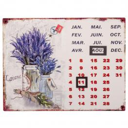 Calendario Metal