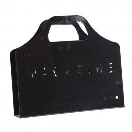Revistero Metal Negro - Metal