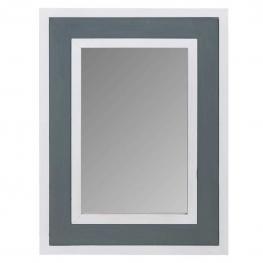 Espejo de Madera Lac Blanco y