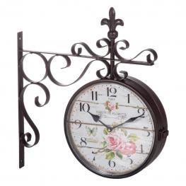 Doble Reloj  de Pared