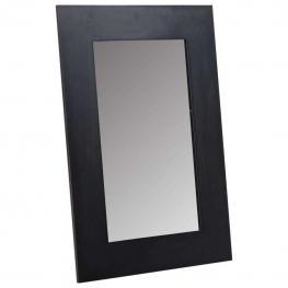 Espejo Marco Madera Negro