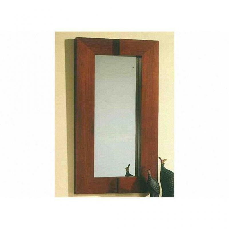 Espejo Blanco Patinado
