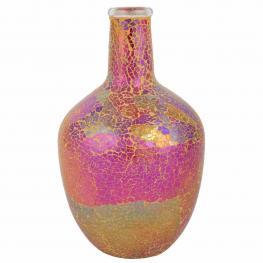 Botella Decoracion de Cristal