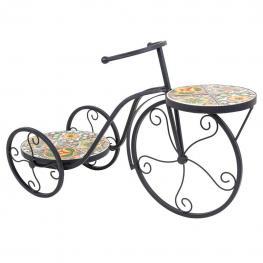 Macetero Bicicleta Forja Para 2