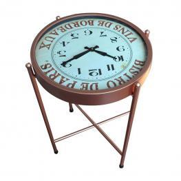 Mesa Reloj de Metal