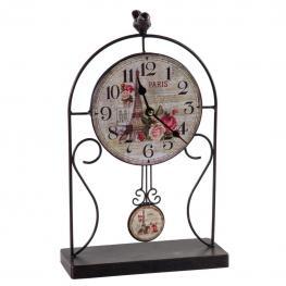 Reloj de Mesa de Forja Negro - Forja