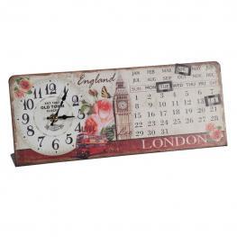 Reloj Calendario de Mesa de Forja - Forja