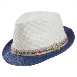 Sombrero Fedora Bicolor