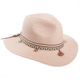 Sombrero Panama Con Adorno