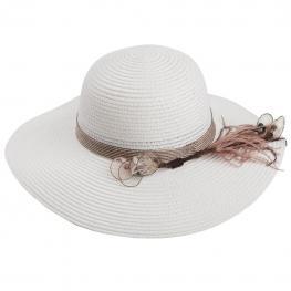 Sombrero Sra de Ala Ancha Con